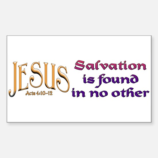 jesus_salvation_bumper Decal