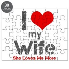 I Love My Wife Puzzle