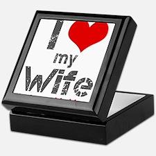 I Love My Wife Keepsake Box