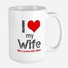 I Love My Wife Mugs