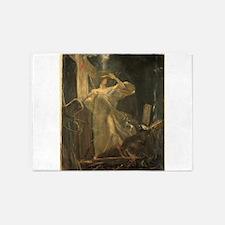 Gyzis - Archangel - Circa 1895 - Painting 5'x7'Are