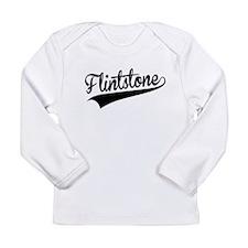 Flintstone, Retro, Long Sleeve T-Shirt