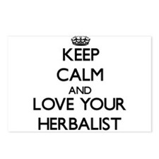 Keep Calm and Love your Herbalist Postcards (Packa