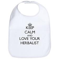 Keep Calm and Love your Herbalist Bib