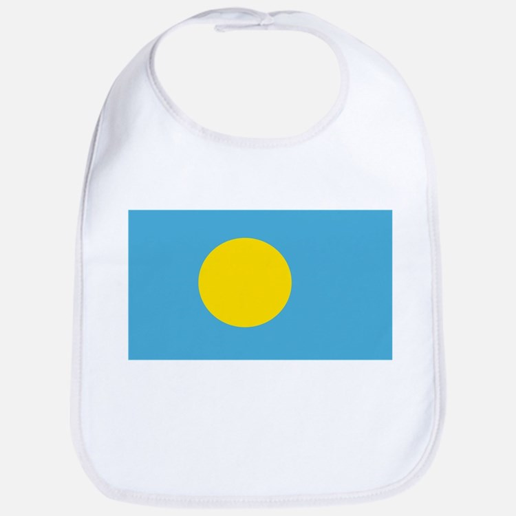 Palau Flag Bib