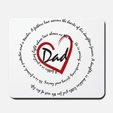 Fathers Day Dad Mousepad