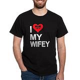 Hubby wifey Tops