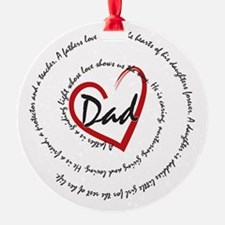 Fathers Day Dad Ornament