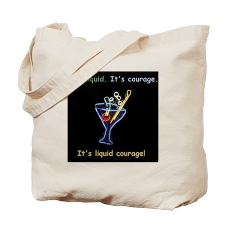 Veronica Mars Liquid Courage Tote Bag