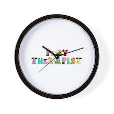 Play Therapist Wall Clock