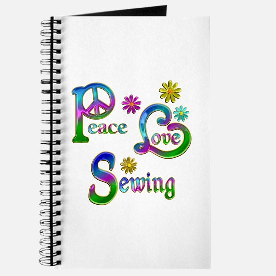 Peace Love Sewing Journal