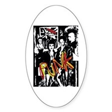 Punk Rock Music Fashion Art And Design Decal