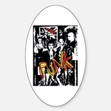 Punk Rock Music Fashion Art And Design Decal