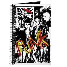 Punk Rock music fashion art and design Journal