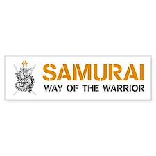 Samurai Bumper Bumper Sticker