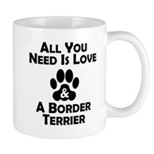 Love And A Border Terrier Mugs
