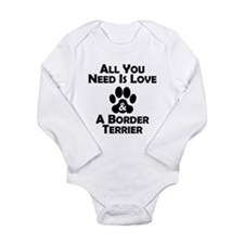 Love And A Border Terrier Body Suit