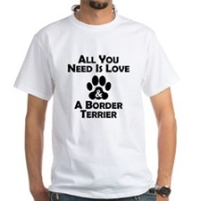 Love And A Border Terrier T-Shirt