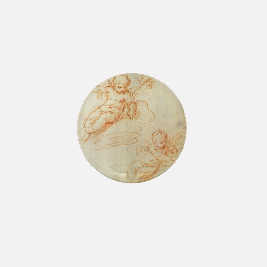 Cantarini - Little Angels - 17th Century - Sanguin