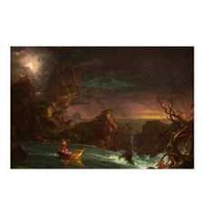 Cole - Voyage of Life: Manhood - 1842 - Oil on Can