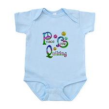Peace Love Quilting Infant Bodysuit