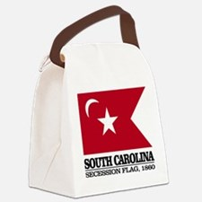 SC Secession Flag Canvas Lunch Bag