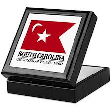 SC Secession Flag Keepsake Box