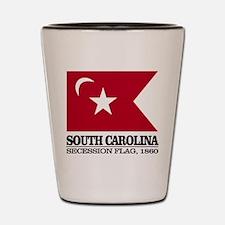 SC Secession Flag Shot Glass