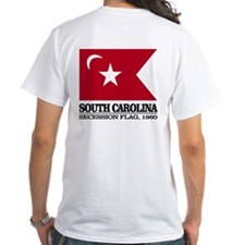 Sc Secession Flag T-Shirt