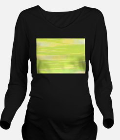 Textured Water in Green Yellow Long Sleeve Materni