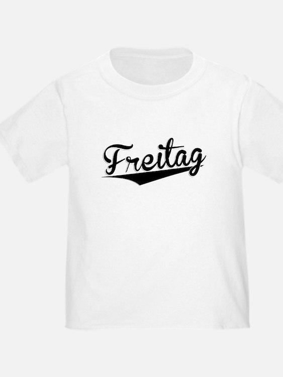 Freitag, Retro, T-Shirt