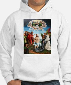 Traut - Baptism of Christ - 1517 - Painting Hoodie