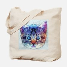 abstract kitten Tote Bag