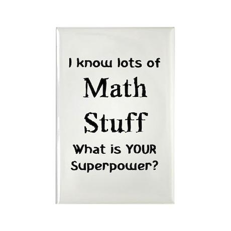math stuff Rectangle Magnet