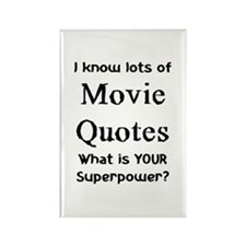 movie quotes Rectangle Magnet