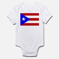 Puerto Rican Flag Infant Bodysuit