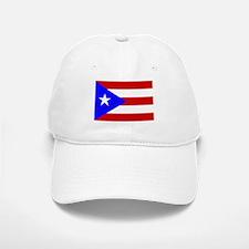 Puerto Rican Flag Baseball Baseball Cap