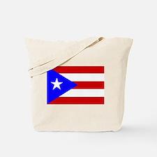Puerto Rican Flag Tote Bag
