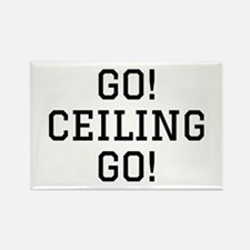 Go Ceiling Rectangle Magnet
