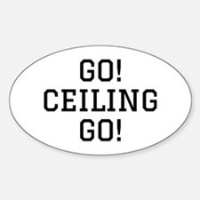 Go Ceiling Sticker (Oval)