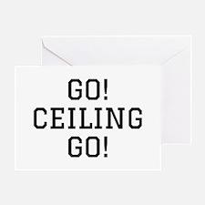Go Ceiling Greeting Card
