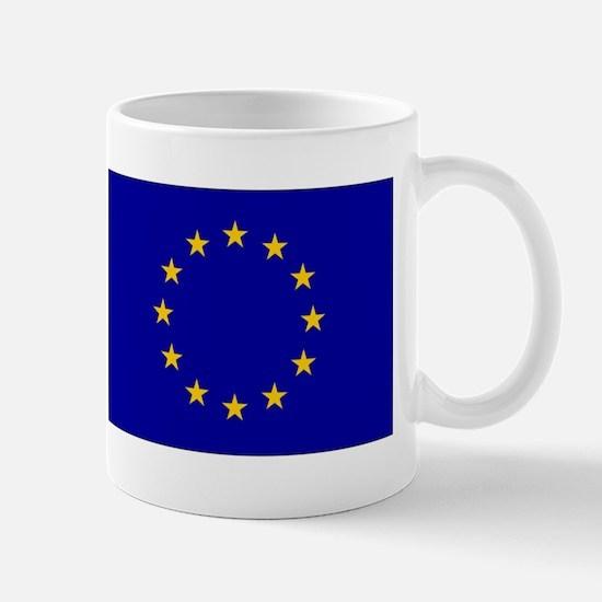 European Union Flag Mugs