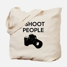 I shoot people - photography Tote Bag