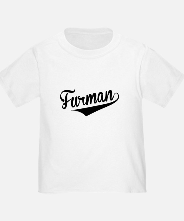 Furman, Retro, T-Shirt