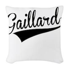 Gaillard, Retro, Woven Throw Pillow