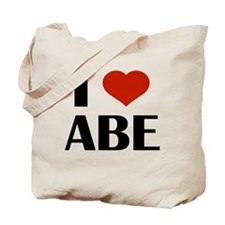 I Heart Abe Tote Bag