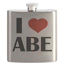 I Heart Abe Flask
