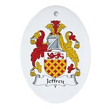 Jeffrey Oval Ornament