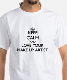 Keep Calm and Love your Make Up Artist T-Shirt