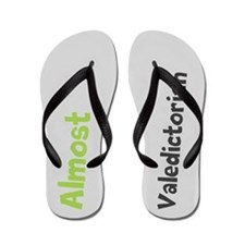 Funny Almost Valedictorian Flip Flops